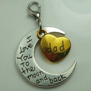 Jewelry - Silver  DAD Floating Charm